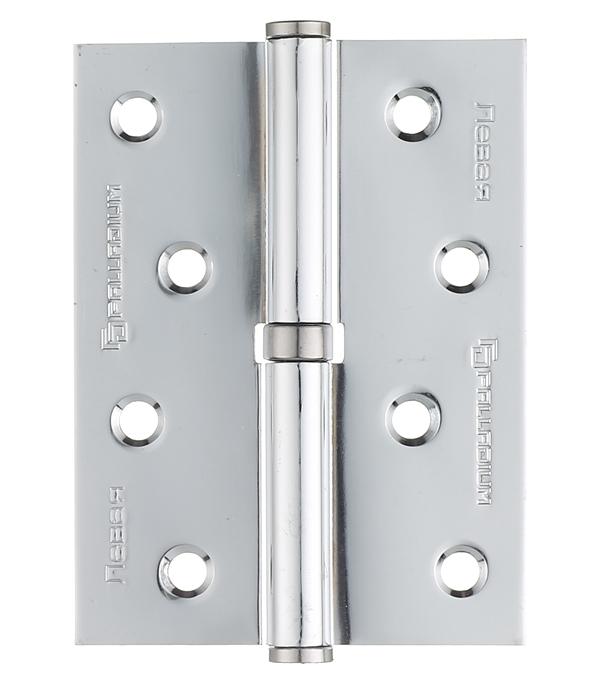 Петля Palladium N 613-S-4 CP левая разъемная 100х75 мм хром петля пн 1 левая разъемная 130х70 мм 2 шт