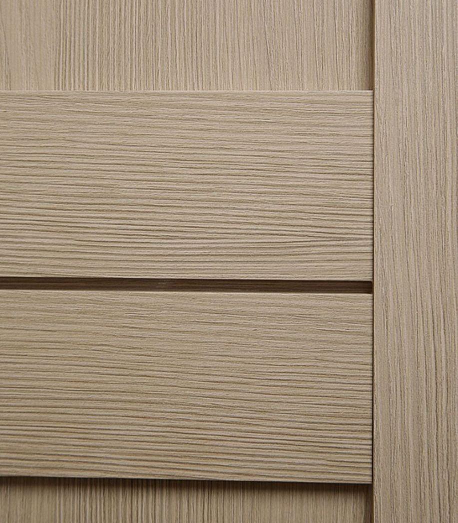 Дверное полотно Verda Баден 05 дуб дымчатый глухое экошпон 800x2000 мм фото