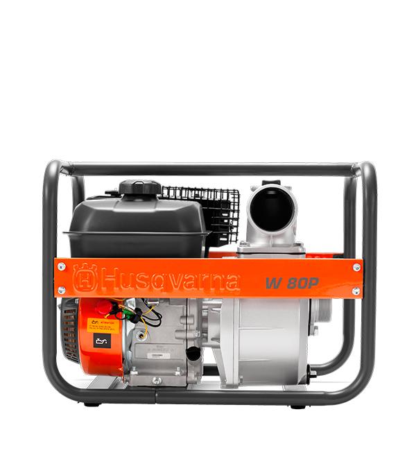 Мотопомпа бензиновая Husqvarna W80P (9676391-02) для чистой воды