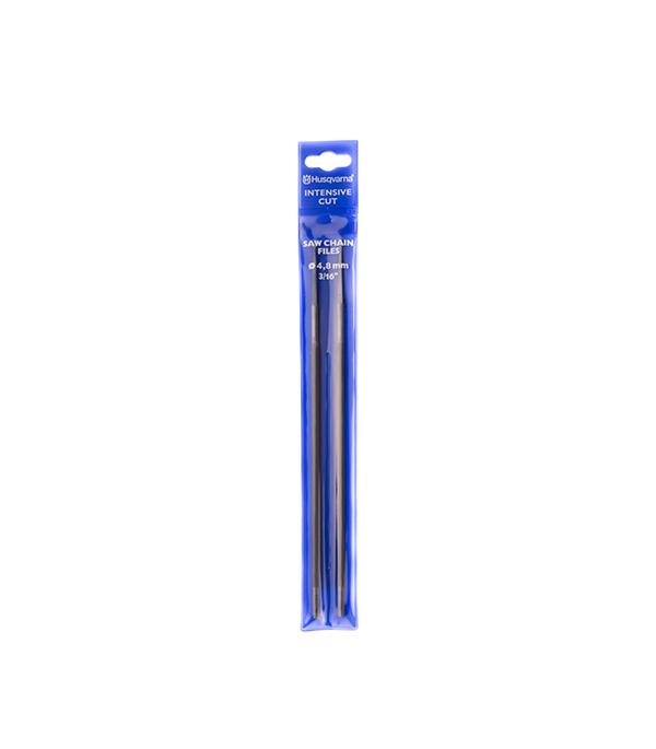 Напильник для заточки цепи Husqvarna IntensiveCut (5100955-01) круглый повышенной стойкости (2 шт.) husqvarna 6 для заточки цепи 12 шт 5056981 61