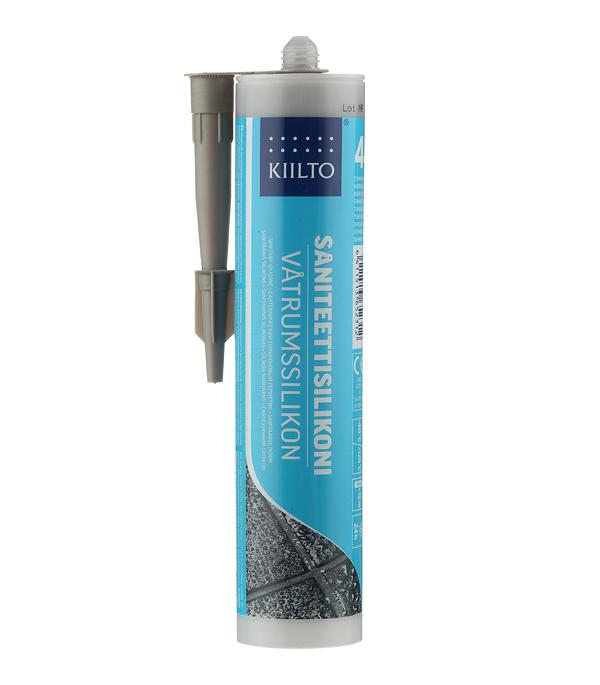 Герметик силиконовый санитарный Kiilto № 44 темно-серый 310 мл цена 2017