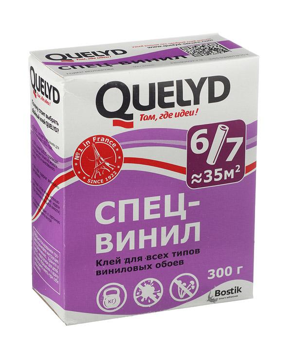Клей для виниловых обоев Quelyd Спец-винил 300 г стоимость