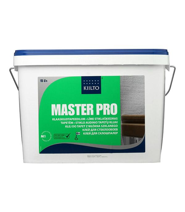 Клей для стеклообоев Kiilto Master Pro 15 л готовый стоимость