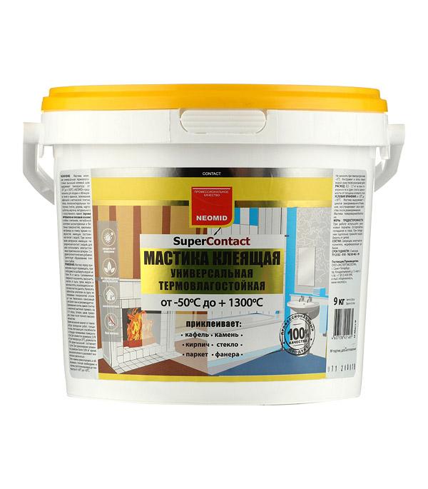 цена на Мастика клеящая универсальная термостойкая Neomid SuperContact 9 кг