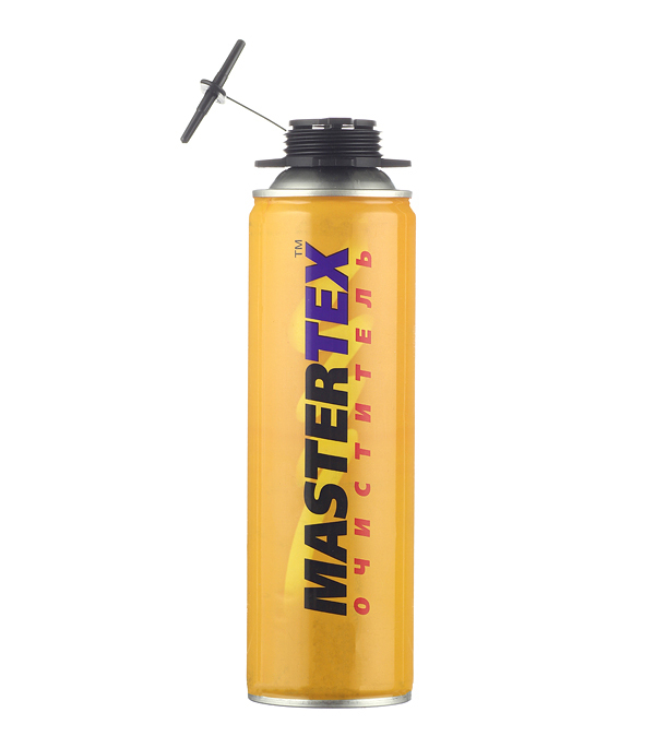Очиститель пены монтажной Mastertex 500 мл