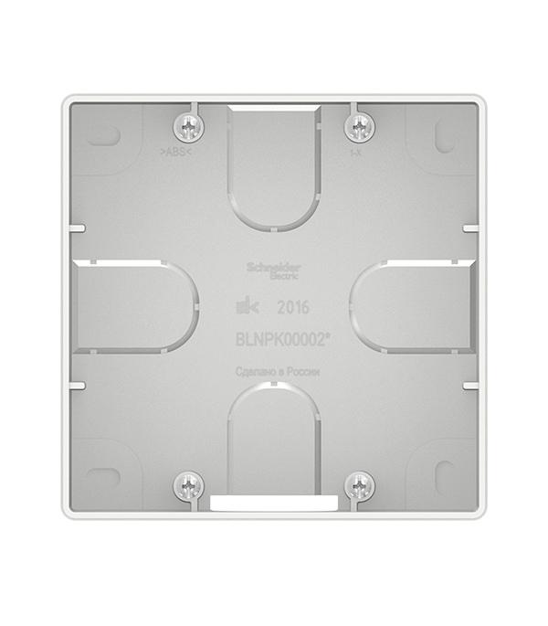 Купить Коробка подъемная для силовых розеток с/у Schneider Electric Blanca белый