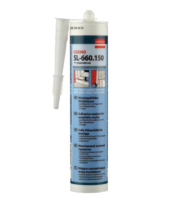 Герметик Cosmofen Жидкий пластик 345 белый 305 г