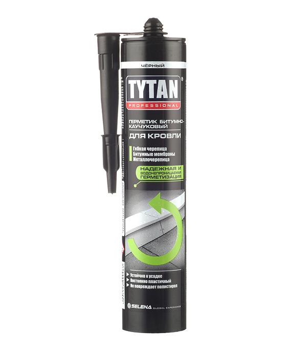 Герметик битумно-каучуковый кровельный Tytan Professional черный 310 мл