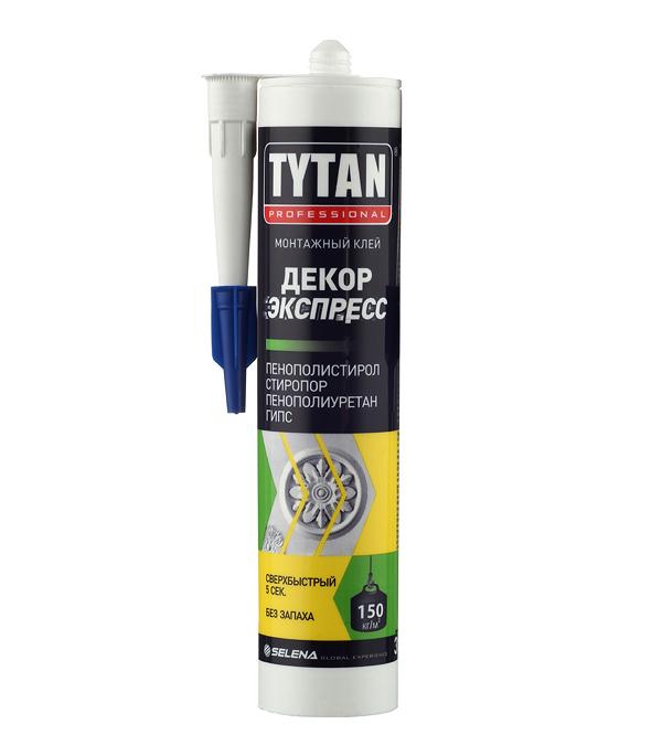 Жидкие гвозди Tytan Декор Экспресс белый 310 мл
