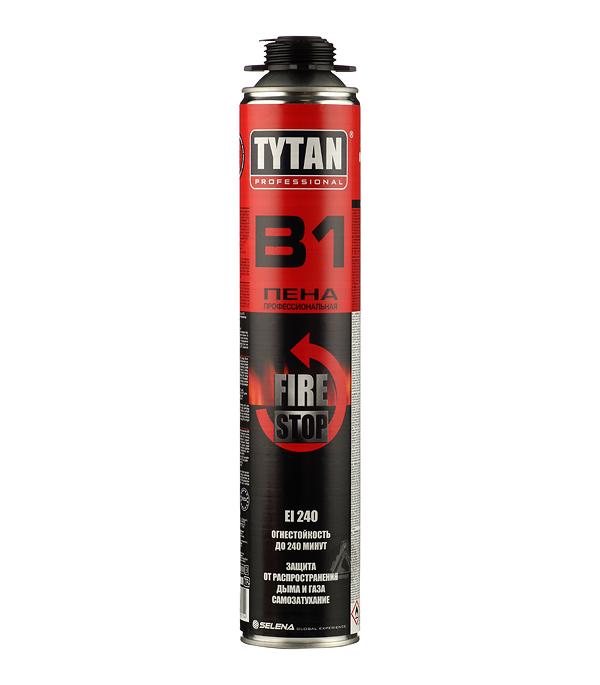 Пена монтажная Tytan B1 профессиональная огнестойкая 750 мл
