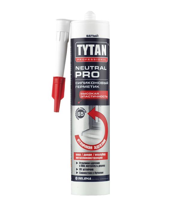 Герметик силиконовый нейтральный Tytan Neutral Pro белый 310 мл