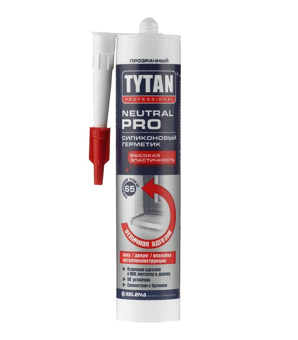 Герметик силиконовый нейтральный Tytan Neutral Pro прозрачный 310 мл