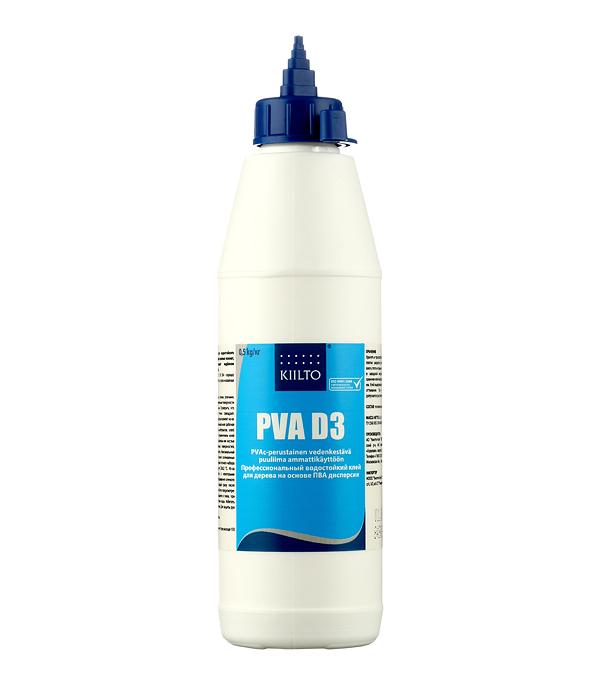 цены на Клей ПВА Kiilto D3 0.5 кг  в интернет-магазинах
