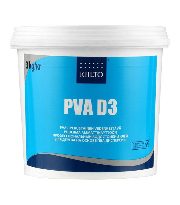 цены на Клей ПВА Kiilto D3 3 кг  в интернет-магазинах