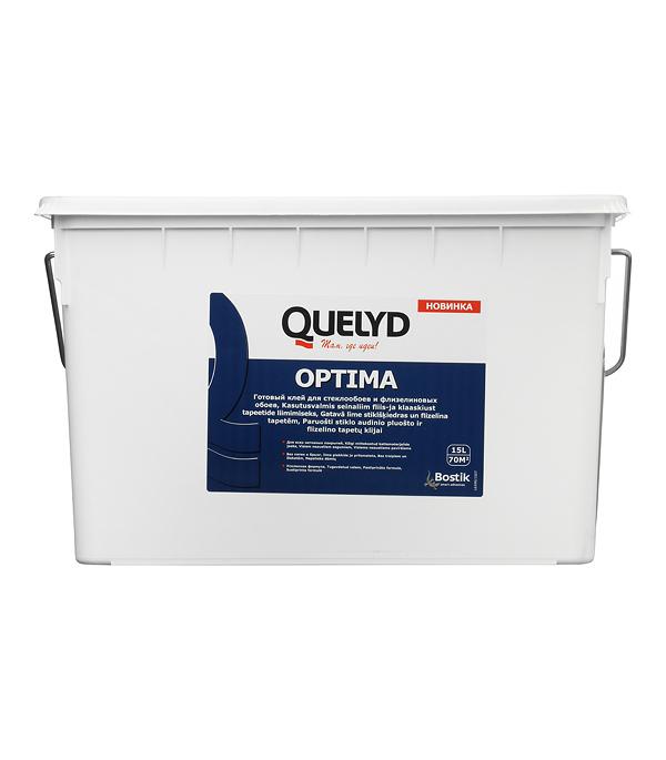 Клей для стеклообоев Quelyd Optima 15 л готовый