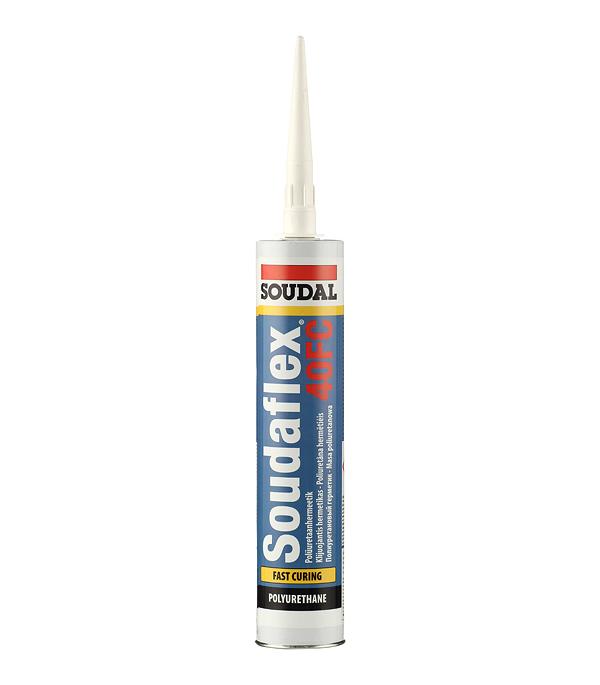 Герметик полиуретановый Soudal 40 FC белый 300 мл