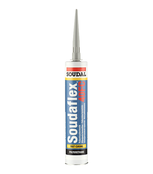 Герметик полиуретановый Soudal 40 FC серый 300 мл