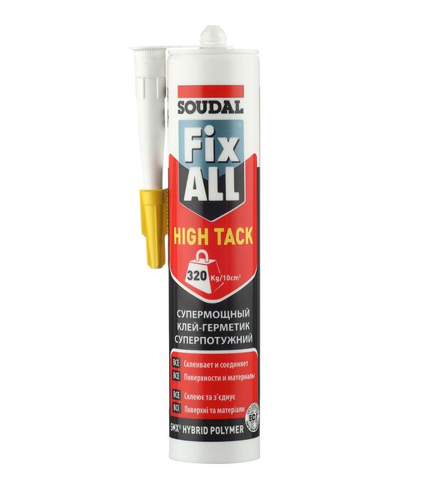 Клей-герметик Soudal Fix All High Tack белый 290 мл