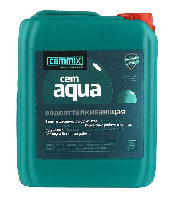 Добавка водоотталкивающая CemMix CemAqua 5 л.