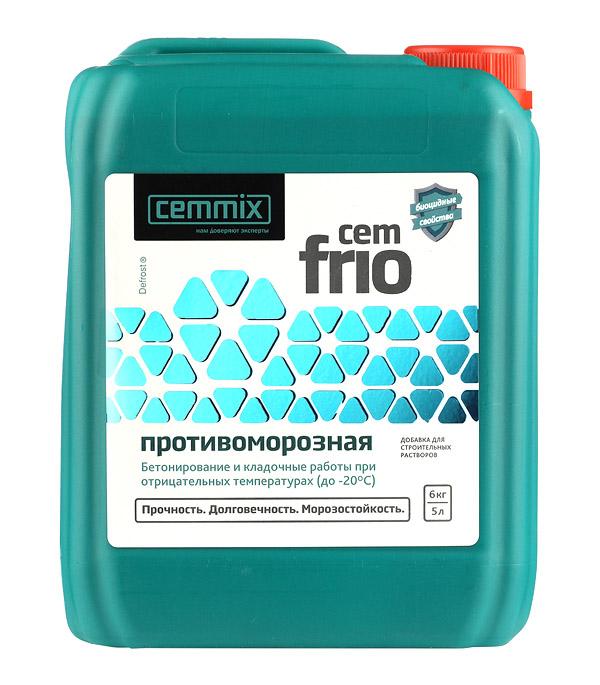 Антифриз для бетонов и растворов CemMix  CemFrio 5 л.