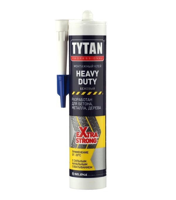 цена на Жидкие гвозди Tytan Heavy Duty бежевый 310 мл