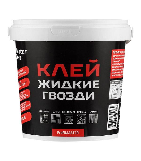 Жидкие гвозди MasterTeks Акриловый экстрасильный 1,5 кг стоимость