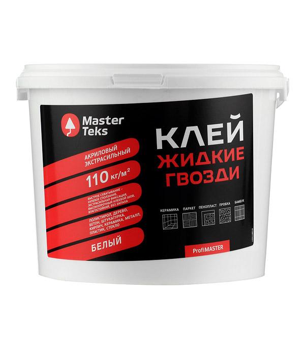 Жидкие гвозди MasterTeks Акриловый экстрасильный 4,5 кг