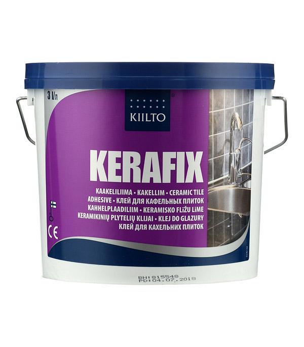 Клей для плитки Kiilto Kerafix готовый 3 л