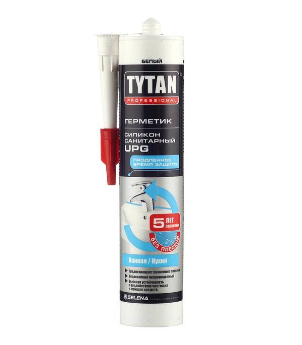 Герметик силиконовый санитарный Tytan UPG белый 310 мл