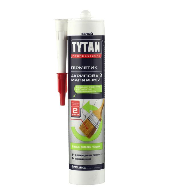 Герметик акриловый малярный Tytan белый 310 мл