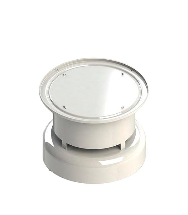 Оголовок коаксиального дымохода Stout D60/100 вертикальный, защита от ветра и осадков stout элемент дымохода dn60 100 комплект адаптер вертикальный утепленный 1000 мм фин уч ок адаптер в комплекте