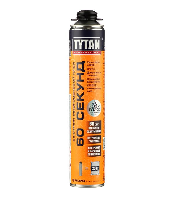 Клей универсальный Tytan Professional 60 секунд 750 мл стоимость