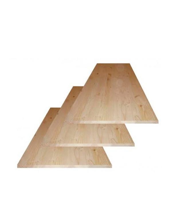 Щит мебельный хвоя 18х200х1000 мм сорт АВ клееный
