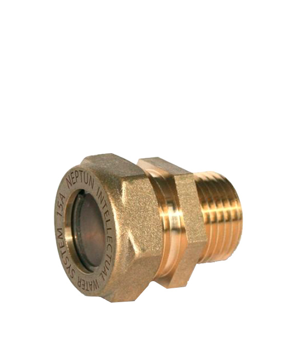 Муфта 25х1  НР для гофрированных труб Neptun IWS EasyFix цена