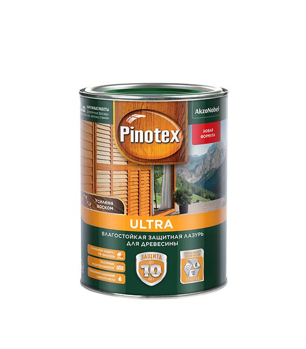 Антисептик Pinotex Ultra декоративный для дерева белый 1 л
