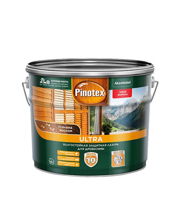 Антисептик Pinotex Ultra декоративный для дерева орех 9 л