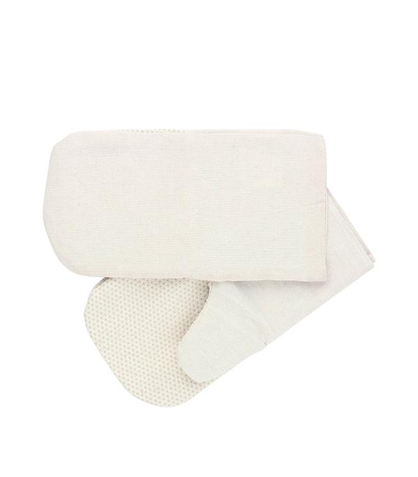 цена на Хлопчатобумажные рукавицы с наладонником из ПВХ покрытия