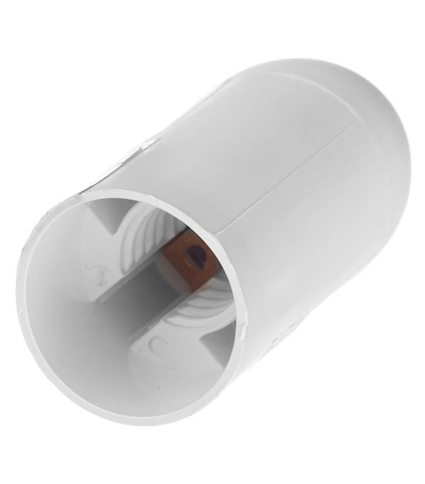 Патрон для лампы Е14 термостойкий пластик