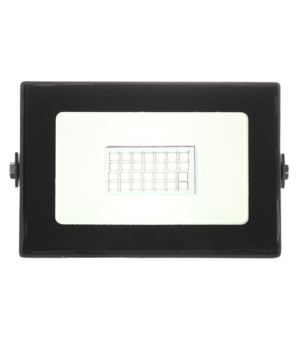 Прожектор светодиодный 20 Вт 220-240 В IP65 6500 К холодный свет плоский корпус