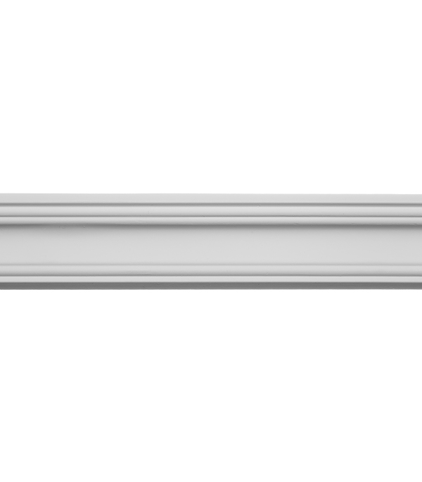 Плинтус из полиуретана 41х41х2400 мм Decomaster.