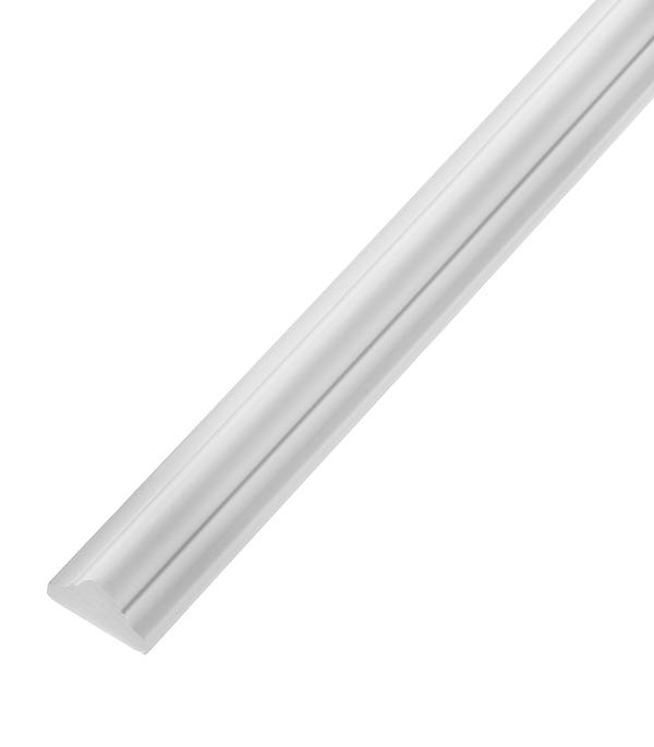 Плинтус (молдинг) из полиуретана 12х25х2400 мм Decomaster материалы для стен и потолка