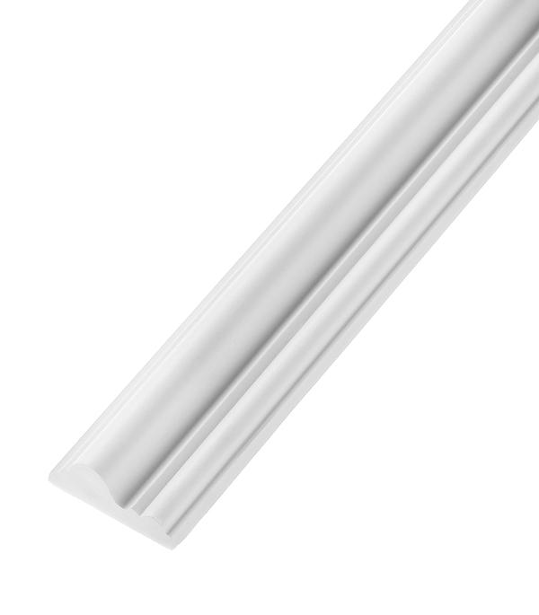 Плинтус (молдинг) из полиуретана 16х40х2400 мм Decomaster материалы для стен и потолка