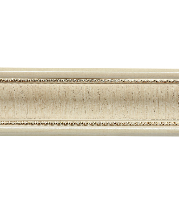 Плинтус (молдинг) из полистирола 42х42х2400 мм Decomaster прованс.