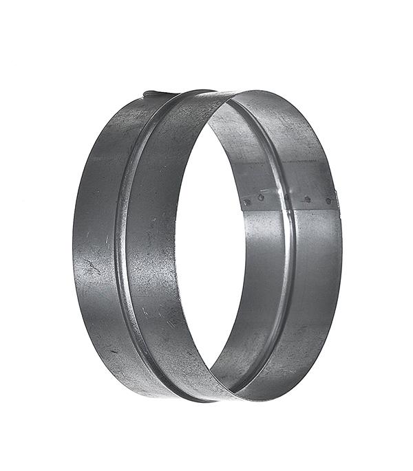 Соединитель для круглых воздуховодов оцинкованный d200 мм врезка оцинкованная для круглых стальных воздуховодов d125х100 мм