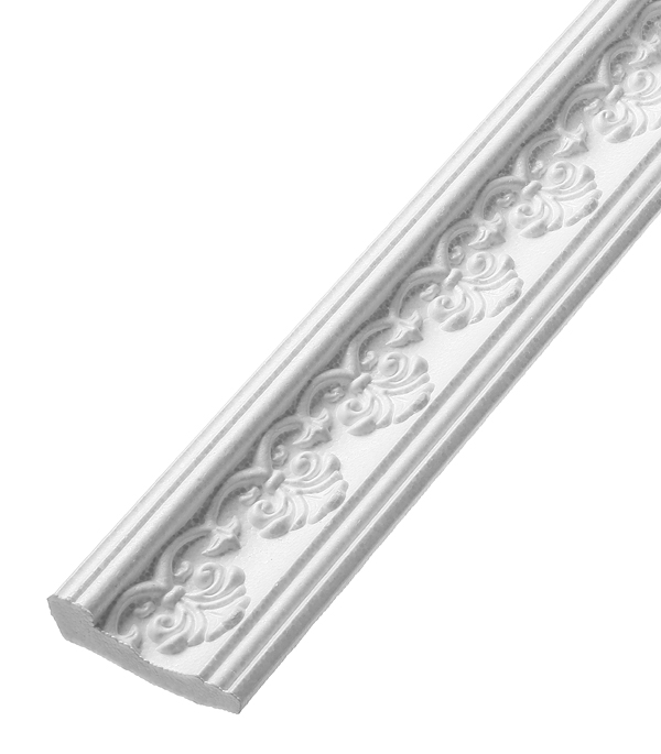 Плинтус из пенополистирола 32х60х2000 мм Solid резной C116/70 материалы для стен и потолка