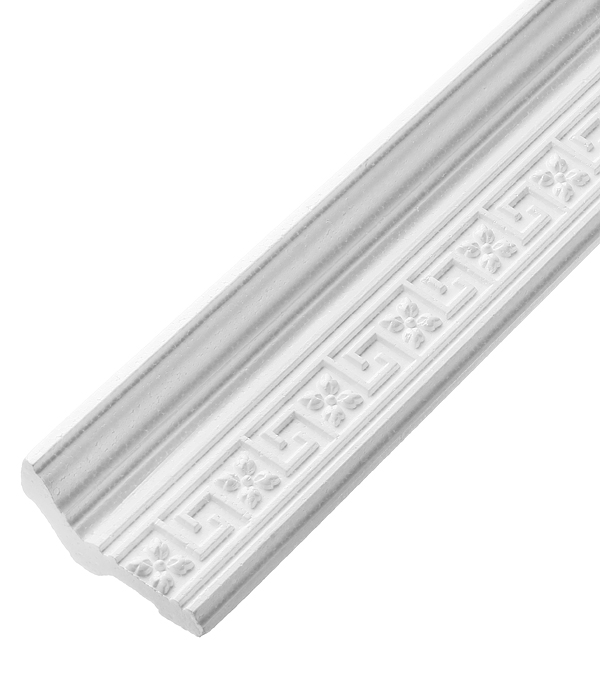 Плинтус из пенополистирола 72х16х2000 мм Solid резной C169/80 материалы для стен и потолка