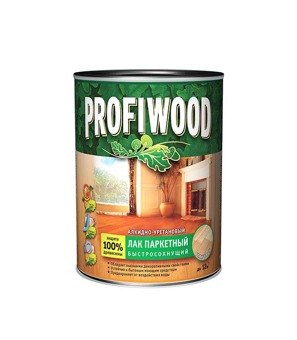 Лак алкидно-уретановый паркетный Profiwood бесцветный 2,6 л/2,4 кг глянцевый