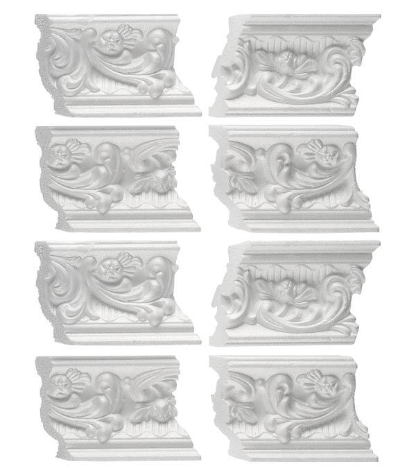 Уголок из пенополистирола универсальный Solid C637/77 упаковка 4 шт. материалы для стен и потолка