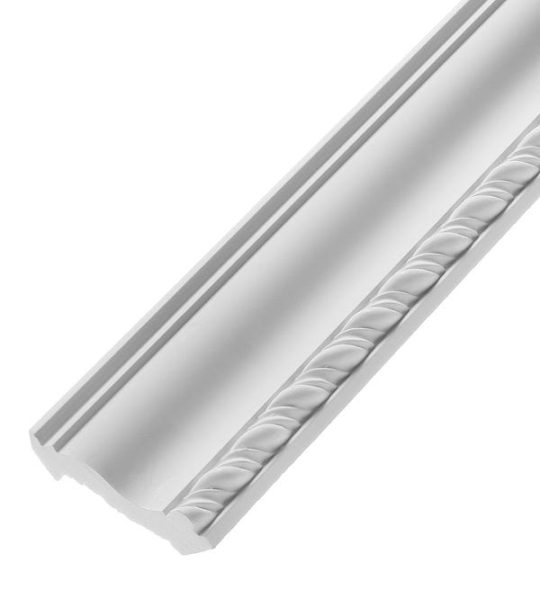 цены Плинтус из полиуретана 50х50х2400 мм Decomaster