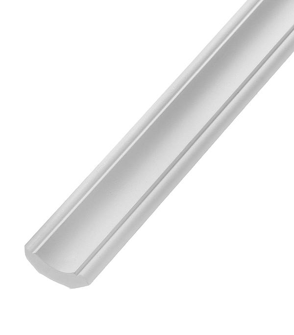 Плинтус из полиуретана 25х25х2400 мм Decomaster материалы для стен и потолка